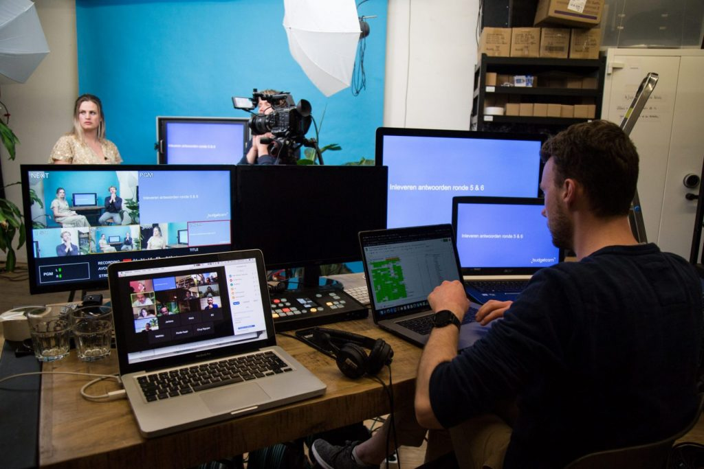 Professionele Budgetcam livestream pubquiz